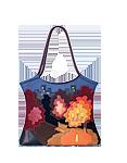 Кожаная сумка №2, Осень в городе