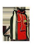 Кожаный женский рюкзак №6, Арбуз