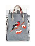 Кожаная женская сумка м.№3
