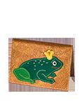 Кожаная обложка  на паспорт №1, Царевна-лягушка