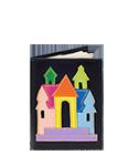 Кожаная обложка  на паспорт №1, Тридевятое царство черная