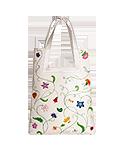 кожаная женская сумка белая м.№18