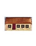 Кожаный кошелёк №1, Сельский домик
