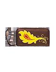 Кожаный кошелёк №2, Перо Жар-птицы