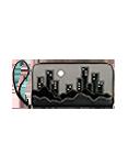 Турконверт кожаный №2, Ночной город