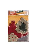 Кожаная обложка  на паспорт №1, Городской парк