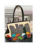 Кожаная сумка №5, Дождь в городе