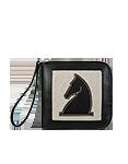 Кожаное портмоне, Конь