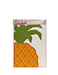 Кожаная обложка  на паспорт №1, Ананас