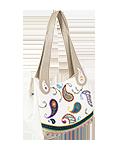 Кожаная сумка №33, Пейсли