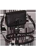 Кожаная сумка №28 черная