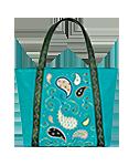 Кожаная женская сумка №42, ПЕЙСЛИ