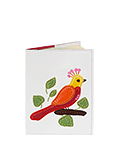 Кожаная обложка  на паспорт №1, Райский сад