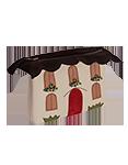 Альпийский домик, косметичка №1
