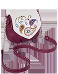 Кожаная женская сумка №31, Пейсли