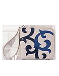 Кожаный женский кошелёк, Барокко