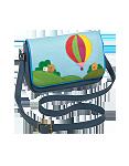 Кожаная сумка №48, путешествие на воздушном шаре