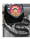 Кожаная женская сумка №31 черная