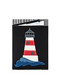 Обложка на паспорт черная №1, Маяк