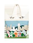 Кожаная женская сумка №46, Сан-Франциско