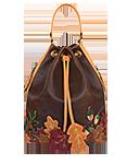 КОЖАНЫЙ ЖЕНСКИЙ РЮКЗАК-сумка №49, Осень