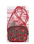 кожаная женская сумка коричневая м.№36,
