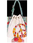 кожаная женская сумка  м.52