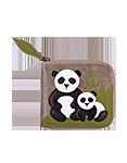 Женский кожаный кошелек-портмоне м.4