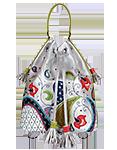Женский кожаный рюкзак-сумка м.49