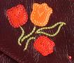 Ф 2 Весенний клатч, м.№19, бордо в Интернет-магазине UNIQUE U