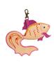 Брелок Золотая рыбка , бежевая Фото 1  в интернет-магазине Unique U