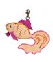 Брелок Золотая рыбка , бежевая Фото 2  в интернет-магазине Unique U