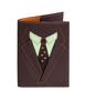 Обложка на паспорт Пиджак, коричневая