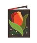 Обложка на паспорт Тюльпан