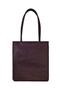 Фото 3 Кожаная женская сумка №1 Фудзияма, бордо в интернет-магазине Unique U дизайнера Елены Юдкевич