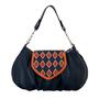 Фото 1 Кожаная сумка №38, Румба синяя в интернет-магазине Unique U