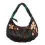 Фото 1 Кожаная сумка №39, ИГРА ТЕНЕЙ коричневая в Интернет-магазине UNIQUE U