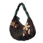 Фото 3 Кожаная сумка №39, ИГРА ТЕНЕЙ коричневая в Интернет-магазине UNIQUE U