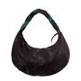 Фото 4 Кожаная сумка №39, ИГРА ТЕНЕЙ коричневая в Интернет-магазине UNIQUE U