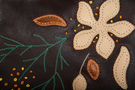 Фото 7 Кожаная сумка №39, ИГРА ТЕНЕЙ коричневая в Интернет-магазине UNIQUE U