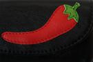 Фото 3 Ключница мужская кожаная чёрная Перец в Интернет-магазине UNIQUE U