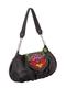 Фото 1 Кожаная сумка №38, Петриковский узор, серая в интернет-магазине Unique U