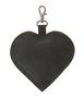"""Кожаный брелок """"Сердечко"""" серый в Интернет-магазине UNIQUE"""