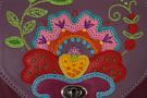 4 Сумка кожаная дизайнерская Петриковский узор в Интернет-магазине UNIQUE U дизайнера Елены Юдкевич