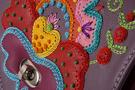 5Сумка кожаная дизайнерская Петриковский узор в Интернет-магазине UNIQUE U дизайнера Елены Юдкевич