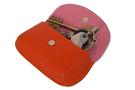 4 Вальс цветов,оранжевая ключница дизайнерская кожаная в Интернет-магазине UNIQUE U дизайнера Елены Юдкевич.