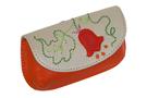 2 Вальс цветов,оранжевая ключница дизайнерская кожаная в Интернет-магазине UNIQUE U дизайнера Елены Юдкевич.