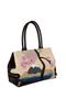 Фото 2 Кожаная женская сумка №5 сакура, коричневая интернет-магазине Unique U дизайнера Елены Юдкевич