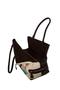 Фото 3 Кожаная женская сумка №5 сакура, коричневая интернет-магазине Unique U дизайнера Елены Юдкевич