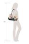 Фото 5 Кожаная женская сумка №5 сакура, коричневая интернет-магазине Unique U дизайнера Елены Юдкевич
